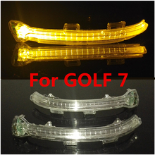 For VW GOLF 7 MK7  Right Wing Mirror Indicator Flasher Side LED Lights Lamps 1 SET  5G0 949 102  5G0 949 101  5G0949102