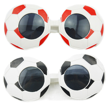 World Cup Football Party Soccer Fans Fun Novelty Sunglasses Funny Crazy Costume Gaga Glasses Gift