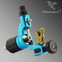 Besta Wholesale Tattoo Accessories Blue Hummingbird Tatto Rotary Machine V2 Swiss Motor Tattoo Liner and Shader Tattoo Kits