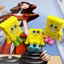 1Pcs New Creative Cartoon Sponge Yellow Boy Novelty Eraser Rubber Primary School Student Prizes Gift Stationery E0530(China)