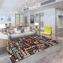 Buy Warm Home Letter Carpet Decor Carpets Living Room Bedroom Rug Sofa Coffee Table Floor Mat Modern Nordic Kids Room Carpet for $98.21 in AliExpress store