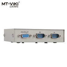 MT-Viki 2 Port DB9 RS232 Switch Serial COM Device Console Printer Sharing Selector Controller 232-2