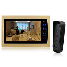 Homefong 10'' Video Door Phone Intercom System Support SD Card Recording & Picture Memory Touch Key Indoor Monitor with Doorbell(China)
