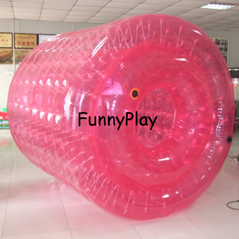 funny inflatable water roller