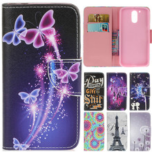 For Moto G4 Plus Luxury Cute Cartoon Dream Butterfly Leather Flip Coque Fundas Case For Motorola Moto G4 G4 Plus Back Cover Capa