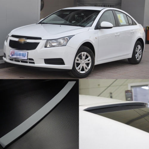 Sports Grade Intensity Twist PU Made Upon Spolier Wings For Chevy Cruze 09-13<br><br>Aliexpress