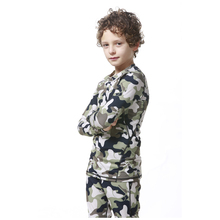 Camo Compression Kids Soccer Basketball Running T Shirts Children Skin Base Layer Gear Tights Football Jersey Long Sports Shirts(China)
