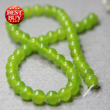 Accessory Parts Round Aventurine Quartz 8mm Diy Green Round DIY Beads loose 15inch Jewelry Making Design Semi Precious Stones