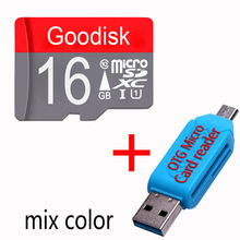 Original Goodisk memory card Class10 32gb TF card Micro SD card 8gb 16gb 32gb 64gb for samrtphone and table PC+OTG reader(China)