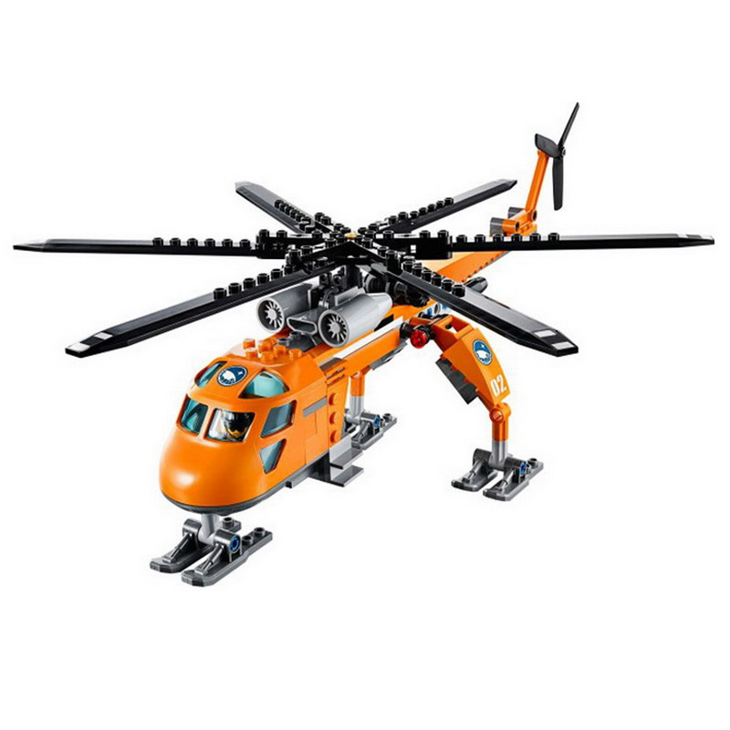 10439-BELA-City-Polar-Adventure-Arctic-Helicrane-Helicopter-Model-Building-Blocks-DIY-Figure-Toys-For-Children (2)