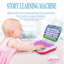 Multifunction Educational Learning Machine English Tablet Toy Kid + Mouse Cloth Books Dropship Y717