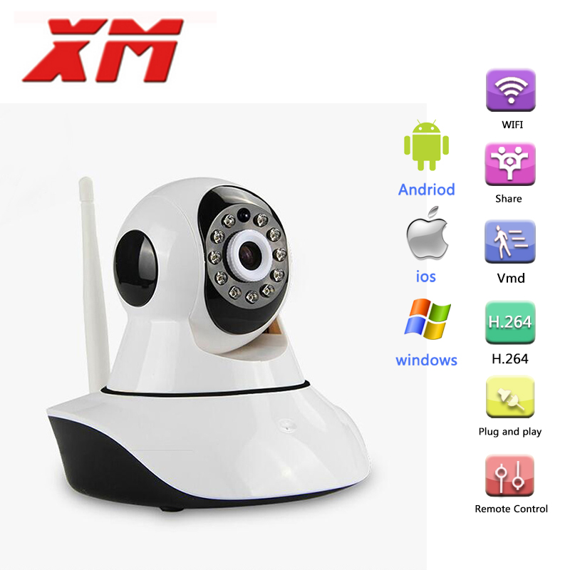 [EU] Russian 720P IP Camera Network CCTV Wifi Security Camera Wireless IR Infrared Night Vision Baby Monitor Cam<br><br>Aliexpress