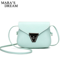 Buy Mara's Dream 2017 Fashion Women Small Crossbody Bags PU Leather Candy Color Small Flap Shoulder Bags Girls Messenger Bag for $3.99 in AliExpress store