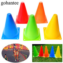gohantee 6PCS 7.1 Inch Football Training Agility Cone Markers 18cm Safety Traffic/Soccer/Baseball Practice Agility Marker Cones