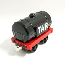 x60 Diecast Metal magnetic Thomas and friends  jet fuel tanker train metal children kids Magnetic toy black tank truck
