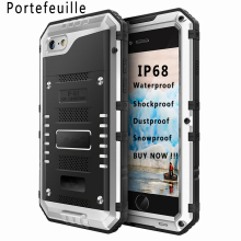 Portefeuille IP68 Waterproof Shockproof Dustproof Protective Case Cover for iPhone 5 S 5S SE Cases iphone5S iphone5 Accessories(China)