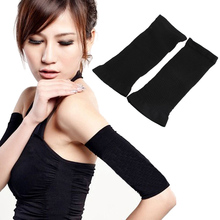 women slimming arm shaper weight loss arm shapers shapewear upper arm shapers elastic black