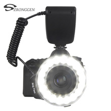 RF-600E Macro LED Ring Flash Light Speedlite for Sony a77 a7 a100 a290 a330 a200 a57 a65 Series DSLR camera