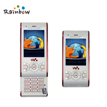 Original Sony Ericsson W595 Flower Mobile Phone Unlocked SonyEricsson w595 Cellphone 3.15MP Bluetooth Free Shipping(China)