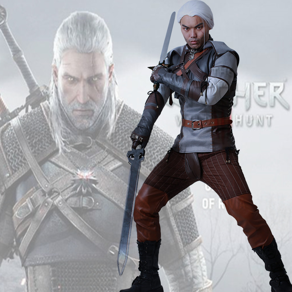 Wild Hunt Geralt of Rivia Cosplay Costume