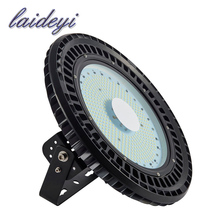 LAIDEYI Factory Price IP65 120lm/w UFO Led High bay Light 100W 110V Garage Workshop Warehouse Lamp LED Highbay Light(China)