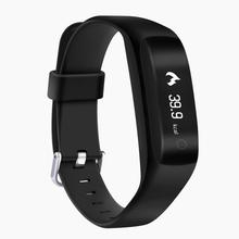 2017 Top sale New fashion Bluetooth Smart Bracelet Heart Rate Watch Sport Healthy Pedometer Sleep Monitor Text message reminder(China)