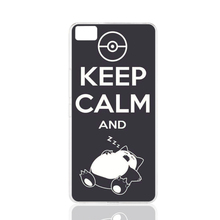 14252 Keep Calm And Snorlax Sleep cell phone Cover Case for BQ Aquaris M5 for ZUK Z1 FOR GOOGLE nexus 6