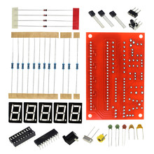Free Shipping DIY Kits RF 1Hz-50MHz Crystal Oscillator Frequency Counter Meter Digital LED Tester Meter