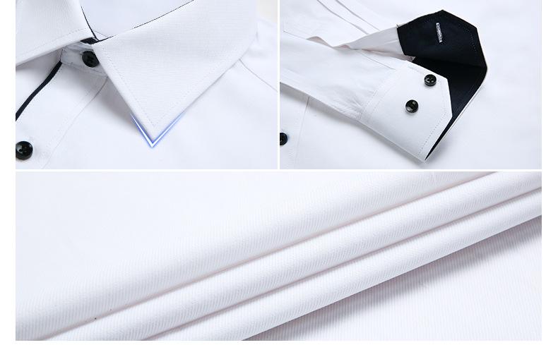 Dudalina Camisa Male Shirts Long Sleeve Men Shirt Brand Clothing Casual Slim Fit Camisa Social Striped Masculina Chemise Homme 10