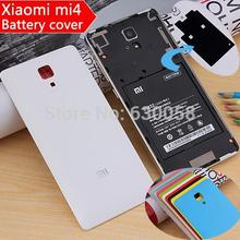 OEM For Xiaomi mi4 battery cover hard case extreme simplicity color MI logo for Xiaomi mi4 Wholesale