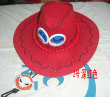 ONE PIECE Hats Ace Hat Cosplay 6 colors for option(China)