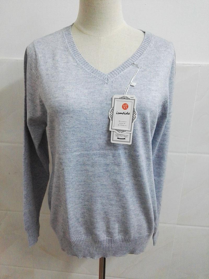 Cashmere Sweater V Neck Women Fashion Autumn Pullovers Knit Cashmere Sweater Women Slim Knit Coat Female Blouse Winter Knitwear 57