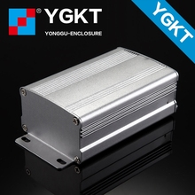 Customized Aluminium Extrusion Enclosure 63*37*95 mm (w*h*l) extruded aluminium enclosures electrical box enclosure