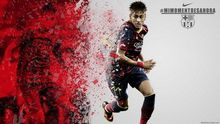 Neymar - Brazil Barcelona Football Soccer Brazil Top Player 50*70cm Poster