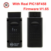 V1.65 Version OP COM Auto Diagnostic Tool Scanner with PIC18F458 chip OBD2 OP-COM/OPCOM CAN BUS For Opel