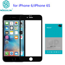 "Nillkin AP+Pro 0.23mm Anti-Explosion 9H 3D Full Cover Tempered Glass For iPhone 6S 4.7"" Screen Protector for iPhone 6 Glass film"