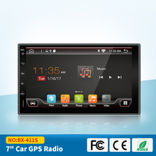 "7""HD Touchscreen 2Din Android Car Navigation Stereo Quadcore Car Entertainment Multimedia Radio WIFI Mirror Link No DVD player"