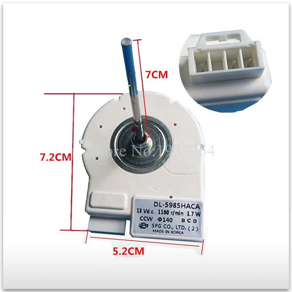 new refrigerator freezer Double open the door Fan motor for DL-5985HACA<br>