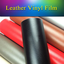 1.52x1m(5x3.3ft) Removable vehicle vinyl wrap leather vinyl film roll sheet air bubble free for car body&internal wrapping