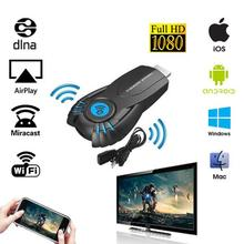 2017 Smart Tv Stick  Android Mini PC Miracast Mirror cast Dongle wifi Ipush better than google chromecast chrome cast