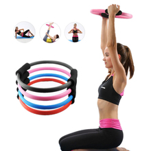 Buy Sport Fitness Magic Resistance Ring Circle Women Yoga Circle Pilates Yoga Ring Fitness Exercise Tool Body Shaped Equipment for $10.85 in AliExpress store