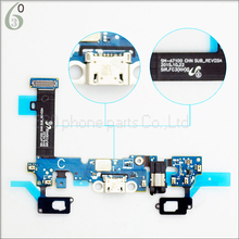 Original for Samsung Galaxy A7 2016 A7100 Earphone Jack USB Port Charging Flex Cable +Microphone + Touchpad Home Key Spare Parts