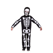 Boys Skeleton Cosplay Children Halloween Demon Costumes Kids April Fool 's Day tricky fetish Role play Easter Masquerade dress
