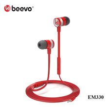 BEEVO EM330 In-Ear Super Bass Earphones Stereo Head phones Spot Running Head set Handfree + Mic for Iphone For Samsung up EM130