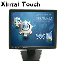 19 inch desktop 5-wire Resistive LCD touch screen monitor / POS display(China)