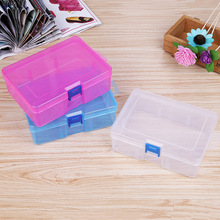 Jewelry Beads Container desktop Transparent Plastic Storage Box Jewelry Organizer Case Holder Cabinets for small objects
