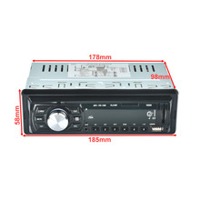 New 1044 Car Radio Stereo Audio MP3 Player  DC12V FM Receiver U Disk Secure Digital Card Remote Control Moblie Can Used