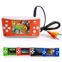 2.5 Inch 8 Bit Handheld Game Player Children Video Game Console Retro Classic Games Built-in 88 for fc games English Menu TV Out(China)