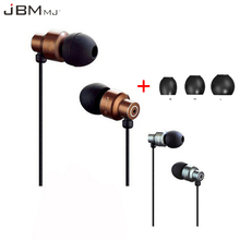 Original JBM 8600 Earphone 3.5mm Wired Earbuds Metal Earphones Super Bass Auriculares With Microphone MJ8600 Headsets For Phone(China)