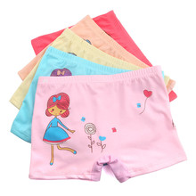 Buy 3Pcs/Lot Cute Breathable Cotton Girls Panties Children Underwear Briefs Mixed Color Baby Clothing 6-12 Years Old